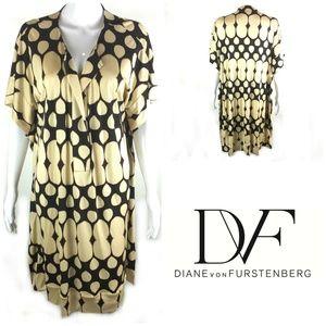 DVF Diane von Furstenberg Oversized Tunic Dress